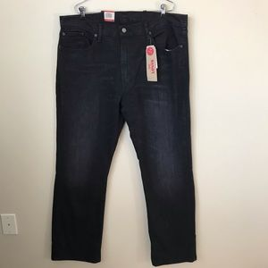 NWT Levi's 559 men's 38x34 black jeans relaxed
